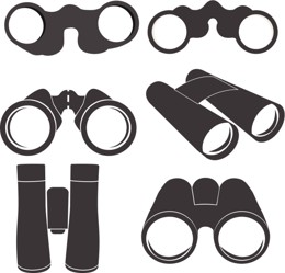shapes binoculars