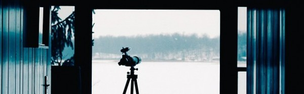 spotting scope from home
